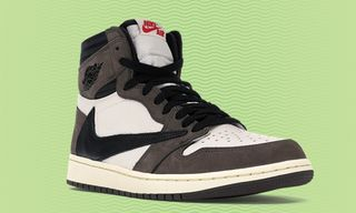 89496be0489745 StockX Is Selling Travis Scott  8217 s Backward Swoosh Air Jordan 1s for  Just