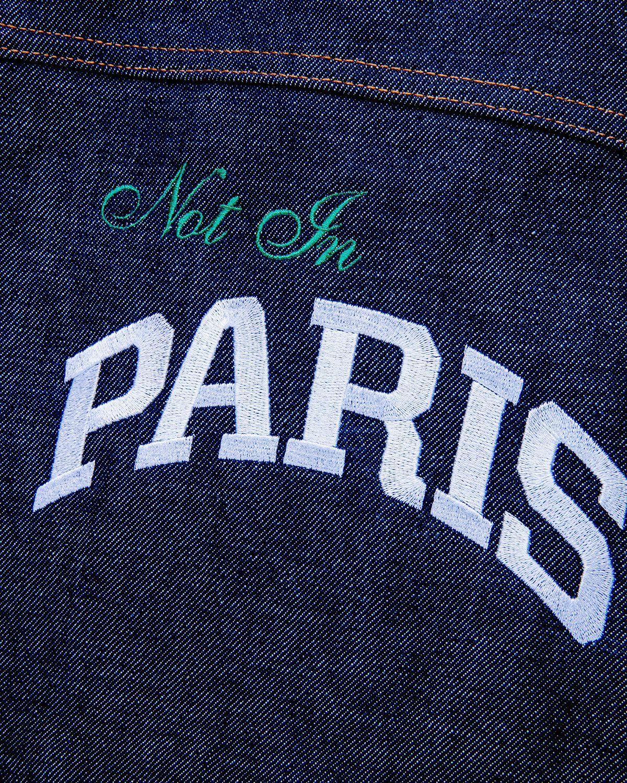 A.P.C. x Highsnobiety — Denim Jacket Blue - Image 5