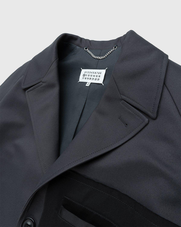 Maison Margiela – Memory Of Twill Coat Dark Grey - Image 3