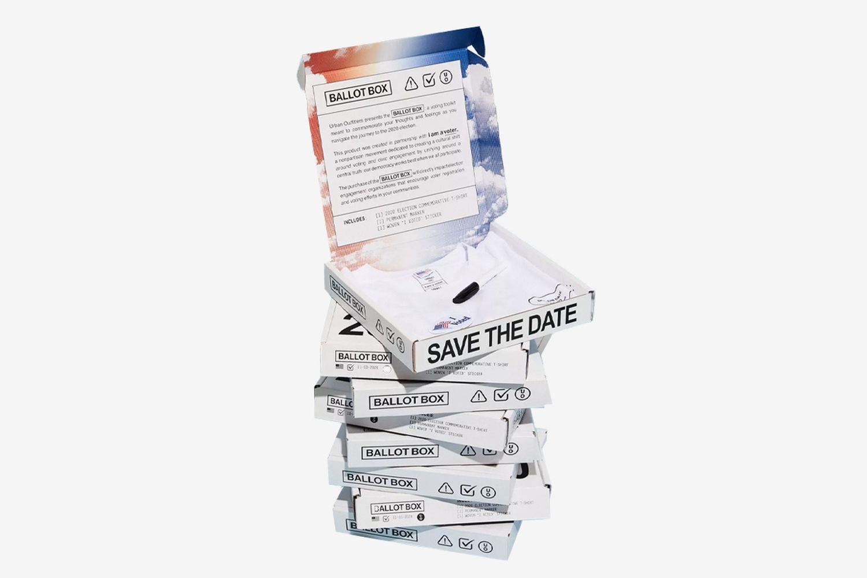 Community Cares + I Am A Voter Ballot Box Tee Kit