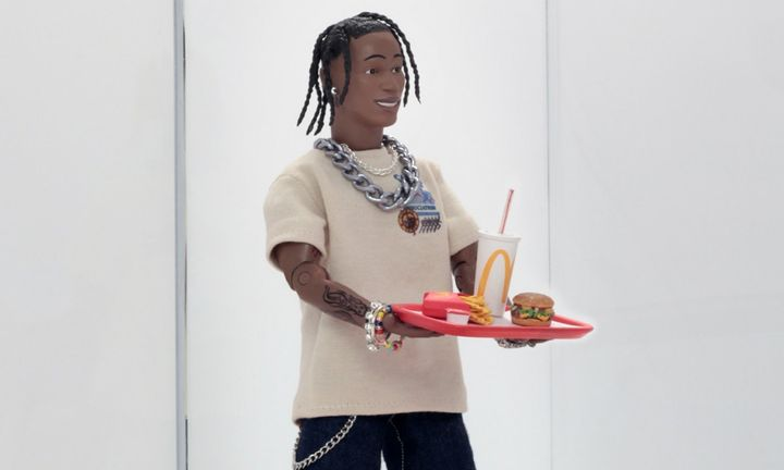 Travis Scott McDonald's action figure