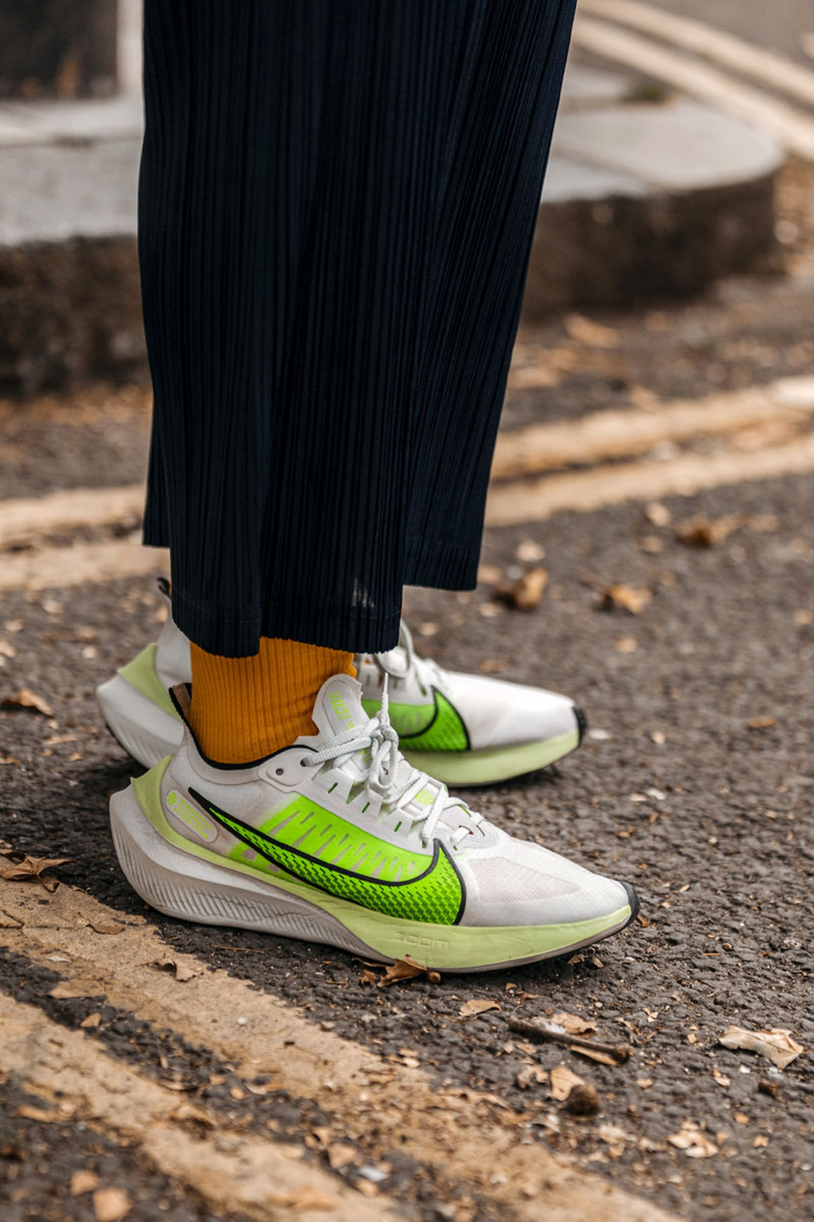 london fashion week street style sneakers fw2019 Adidas Converse Nike