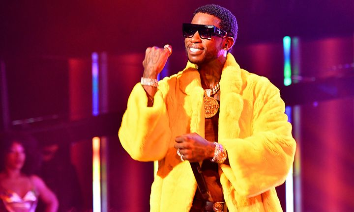 Gucci Mane performs onstage during the BET Hip Hop Awards