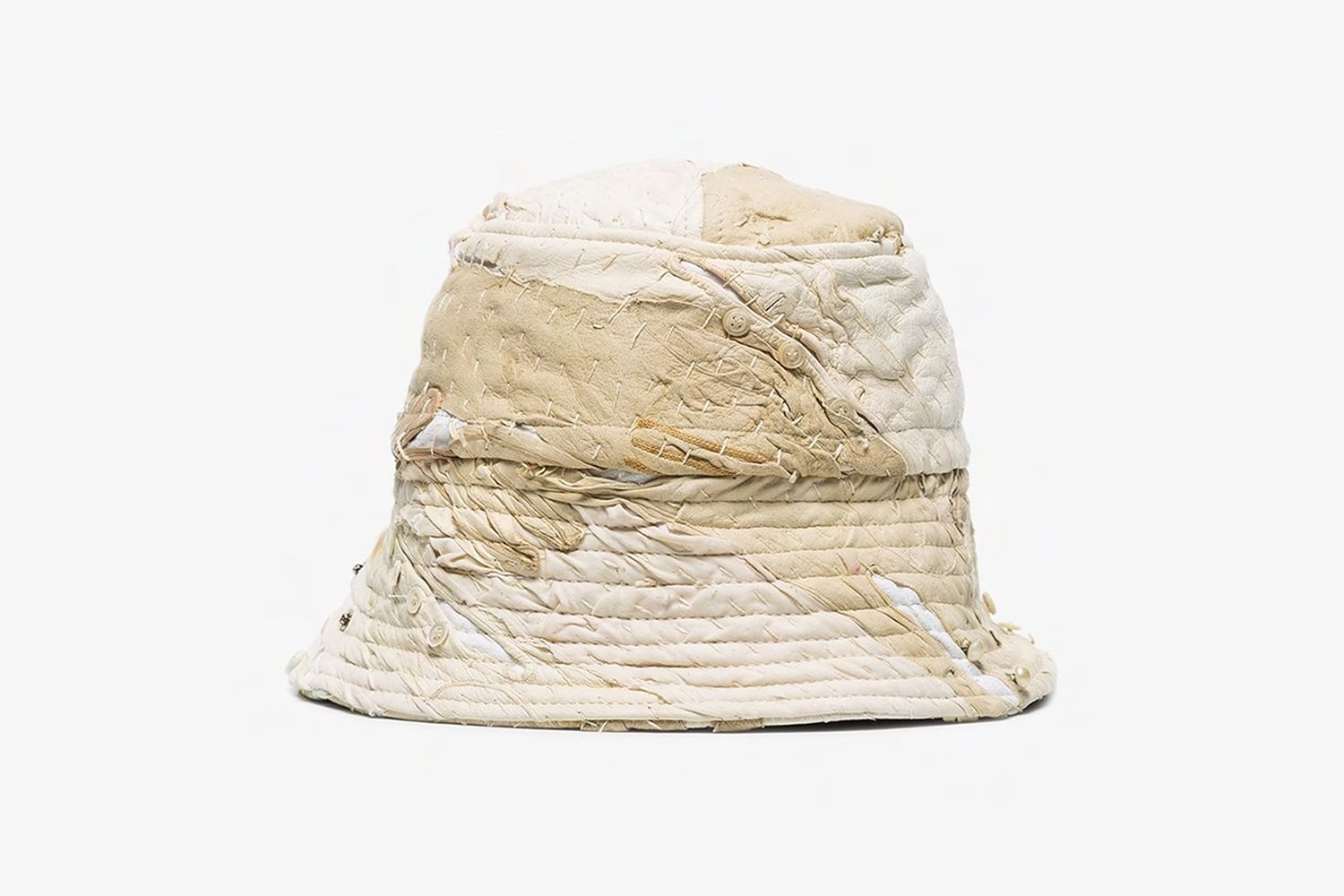 19th Century Leather Bucket Hat