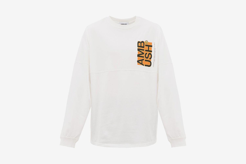 Logo-Print Long-Sleeved T-shirt