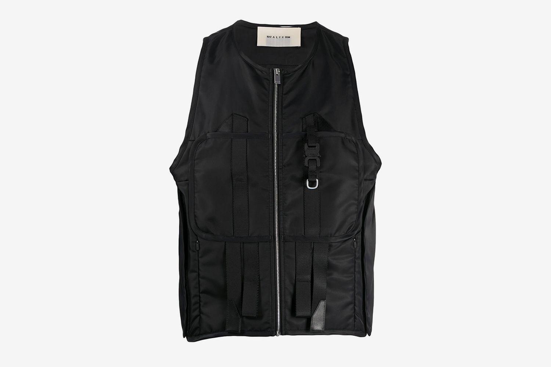 Zipped Utility Vest