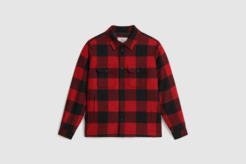 Alaskan Wool Check Overshirt