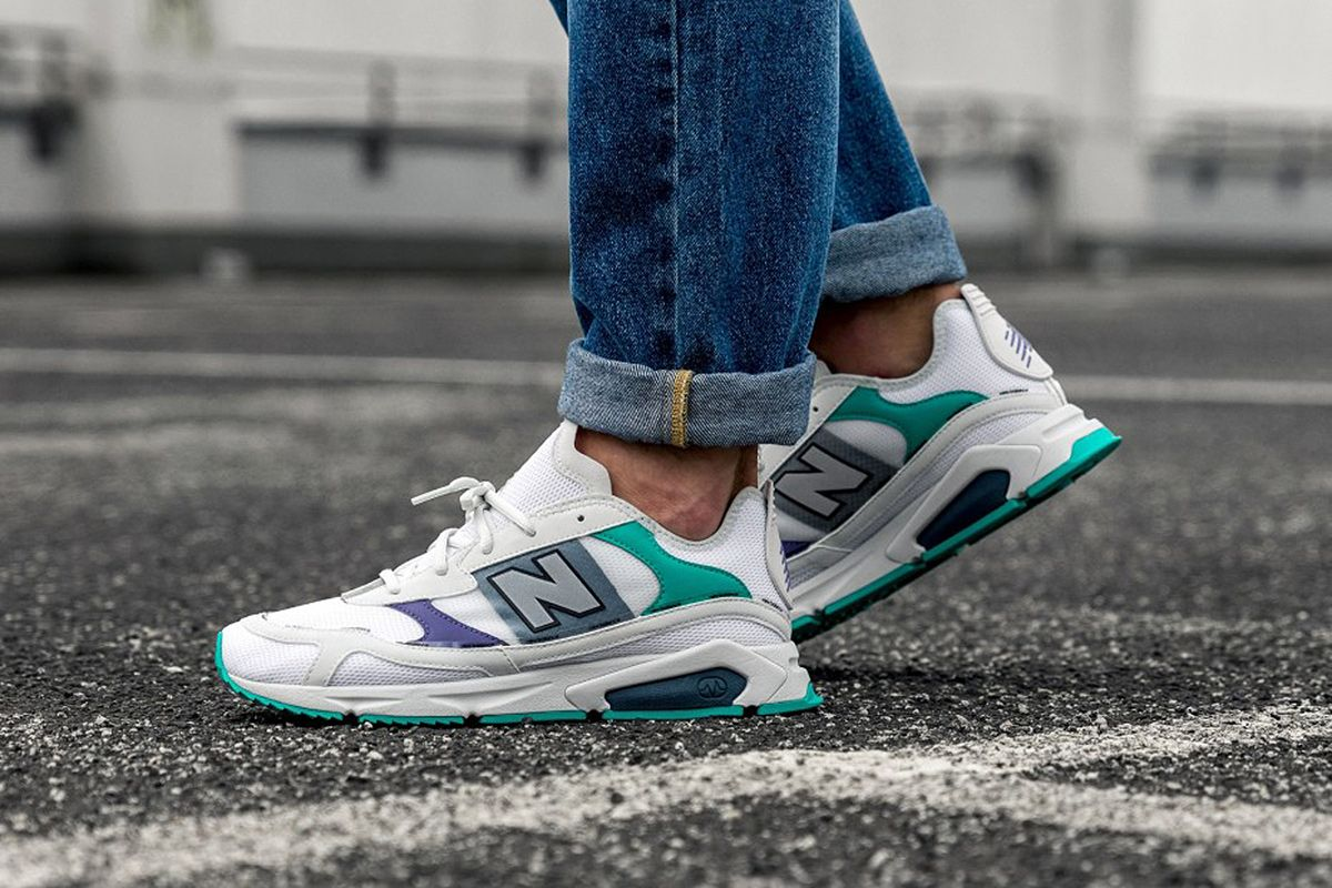 The New Balance X-Racer Blends Technical Design with Popping Colors