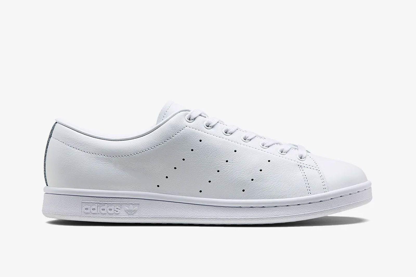 white leather hyke x adidas AOH 001