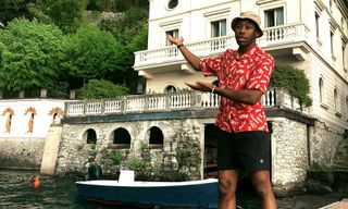 The Drip | Tyler, the Creator Nails Summer Style in a Next-Level Louis Vuitton Shirt