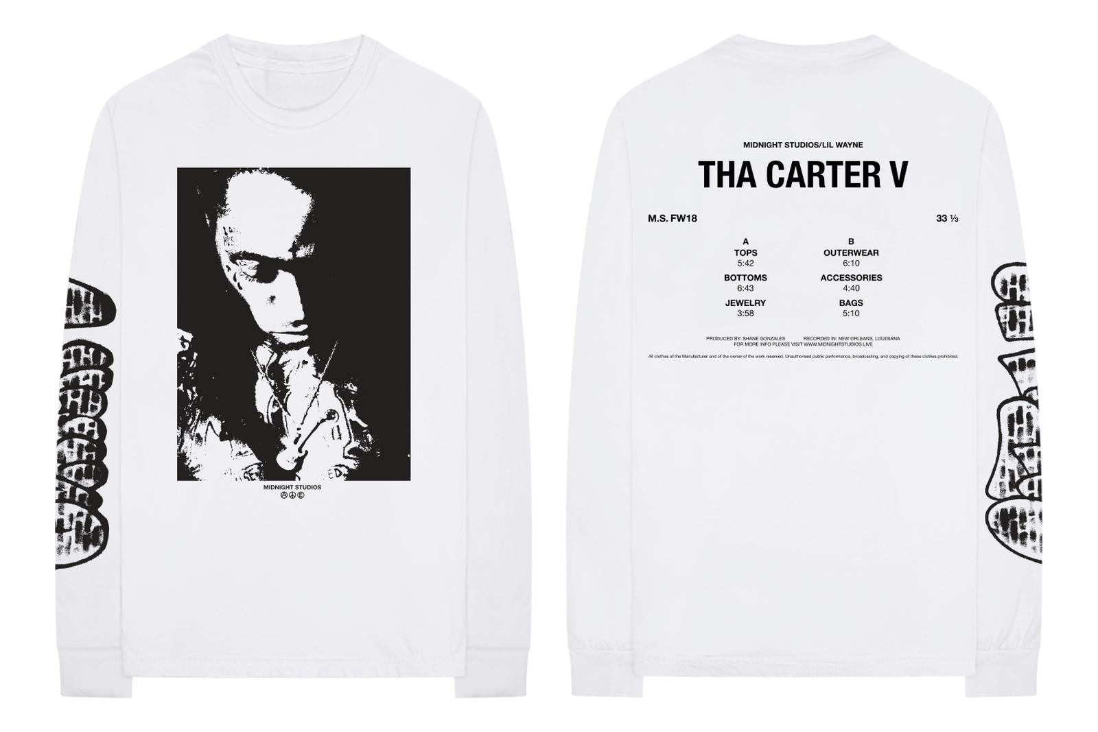 lil wayne carter v 5 merch midnight studios Tha Carter V bravado