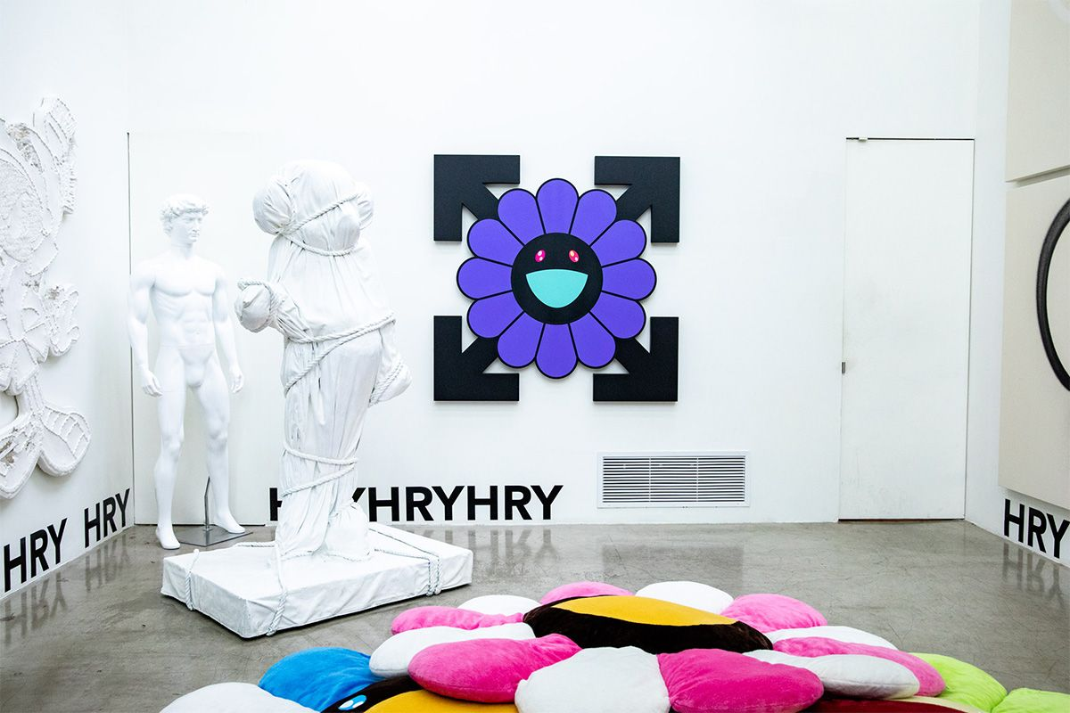 See a Host of Virgil Abloh & Takashi Murakami Artwork for Free at New NYC Gallery