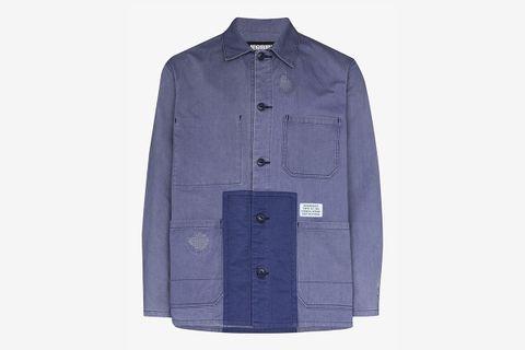 Multi-Pocket Cotton Shirt Jacket