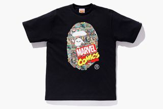 297867dd0d4 Baby Milo   Iron Man Link Up for BAPE x Marvel T-Shirt Collection