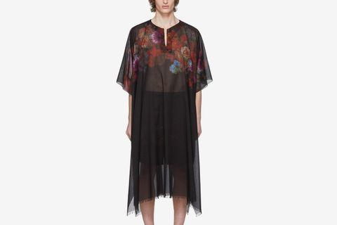 Black & Multicolor Carland Tunique Shirt
