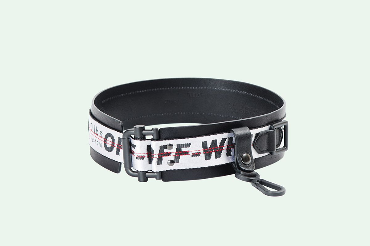 Industrial Leather Belt