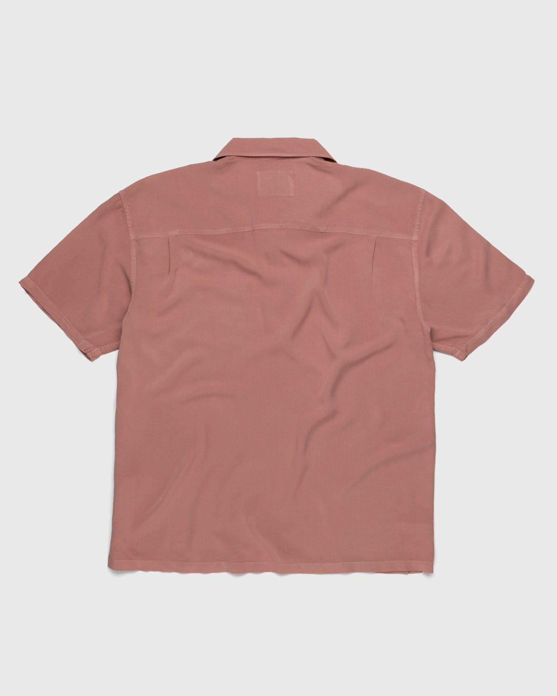 Highsnobiety – Bowling Shirt Mauve - Image 2
