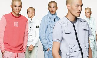 "Stone Island's SS19 ""Placcato"" Collection Arrives in Pastels"