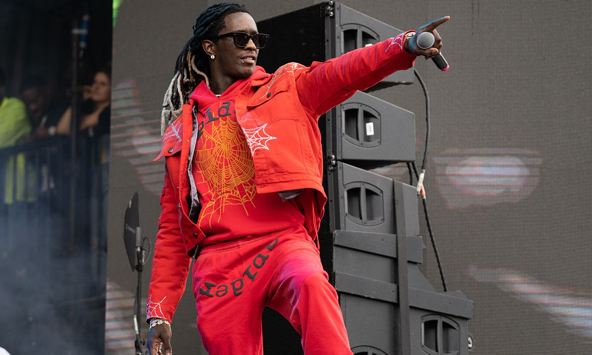 Young Thug Gifted a Super Fan a $7,000 SPIDER Jacket for His Dedication