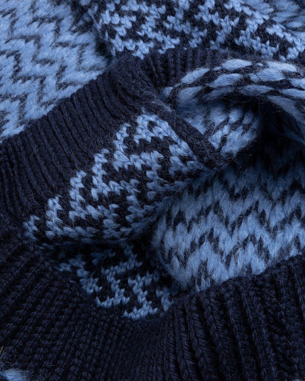 Jil Sander – Vest Kitted Blue - Image 5