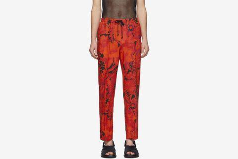 Linen Perkino Trousers
