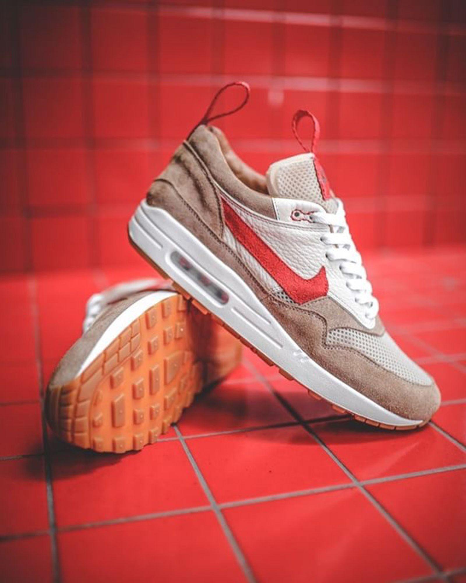 mars yard nike air max 1 custom Custom Sneakers