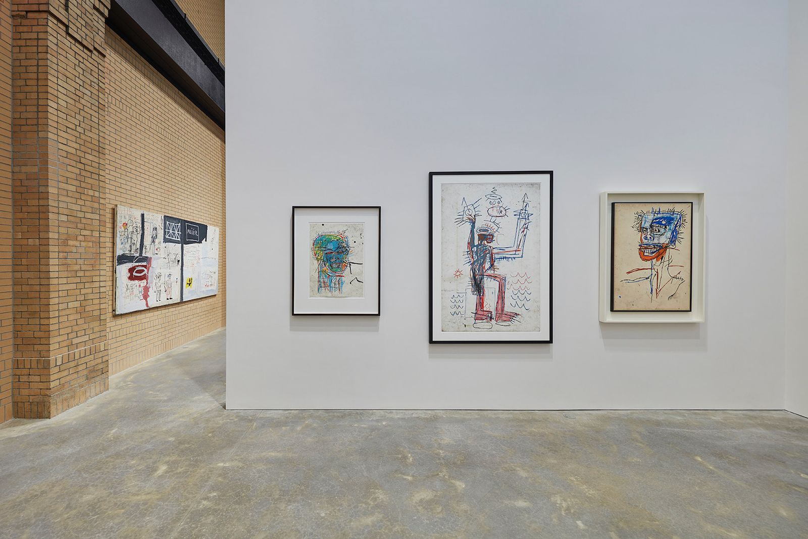 jean michel basquiat exhibition the brant foundation