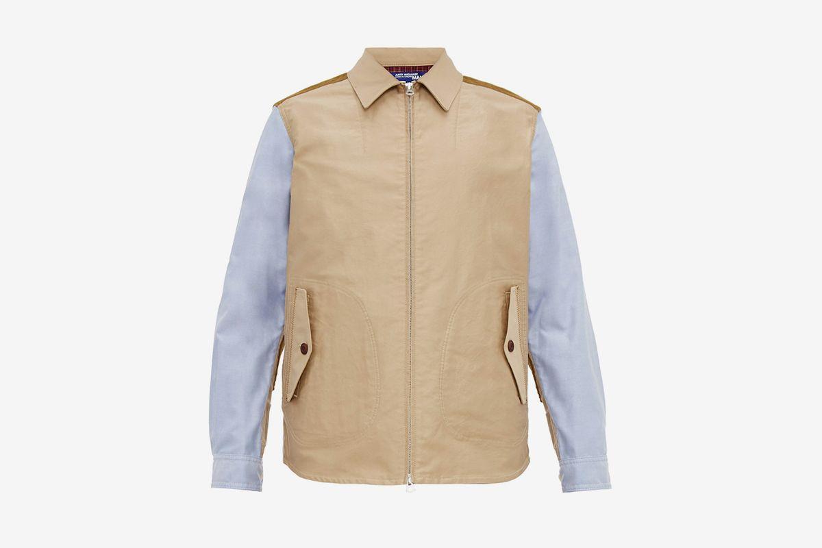 Patchwork Cotton Jacket