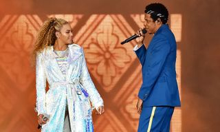 Beyoncé & JAY-Z Made an Elevator Entrance During 'On the Run II' Tour