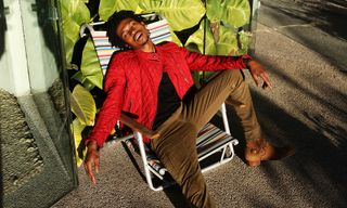 Raury Channels New-Age Rockstar Chic in Our LA Shoot