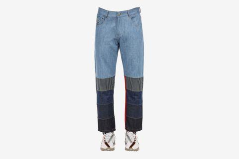 5 Layer Cotton Denim Jeans