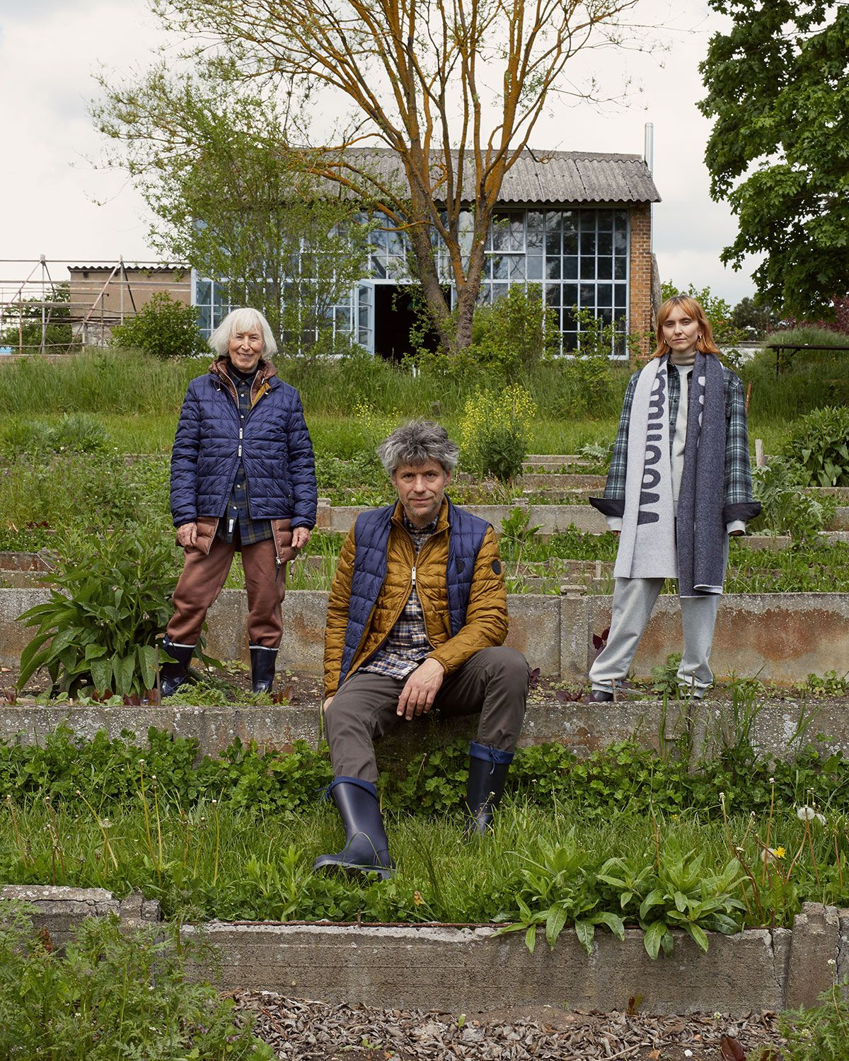 We Get Our Hands Dirty With Woolrich And Gardening Experts, Großer Garten