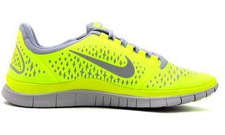 Nike Free 3.0 Wolf Grey/Volt