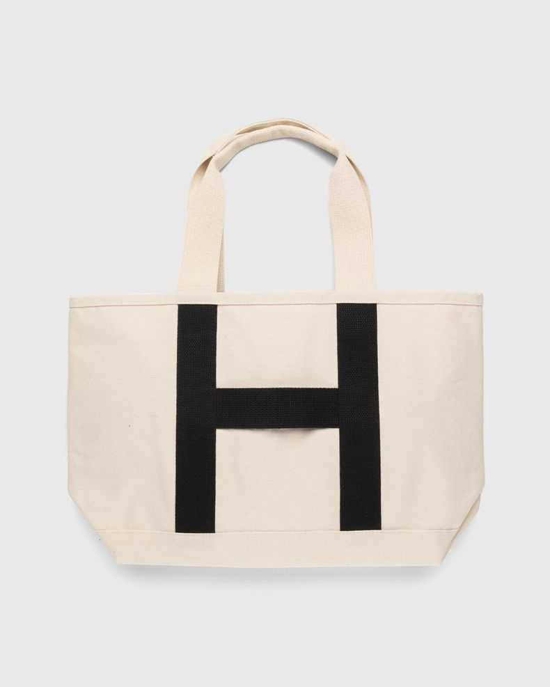 Highsnobiety – Heavy Canvas Large Shopper Tote Natural