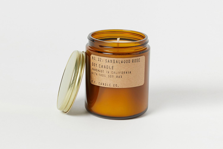 Sandalwood Rose Candle