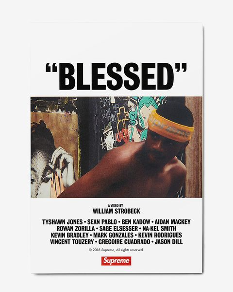 ed759b459845 Supreme's 'BLESSED' Brings Skate Videos Back to Their Roots