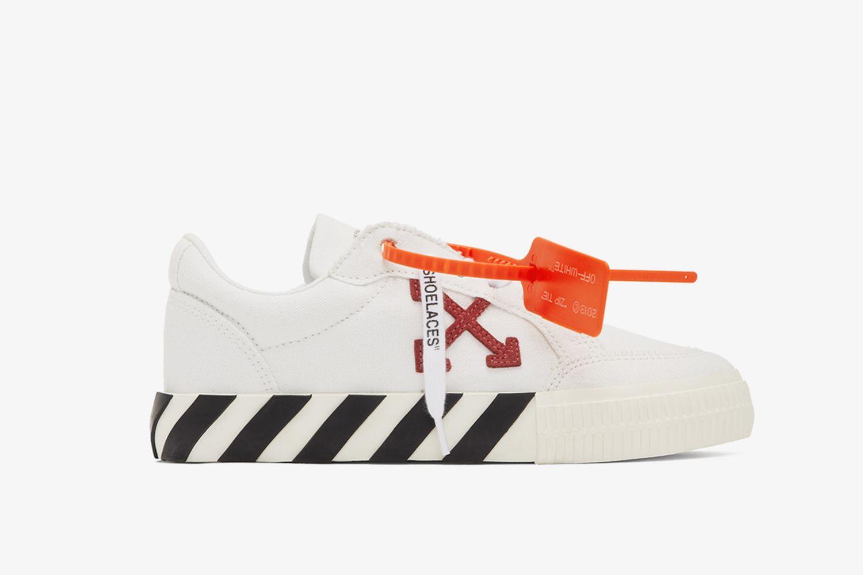 Vulcanized Low-Top Sneakers