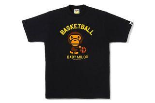 36a47b6cd BAPE® Basketball T-Shirt - BAPE STORE® Los Angeles Exclusive ...
