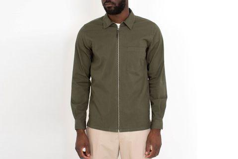 Jens Garment Dyed Twill Jacket