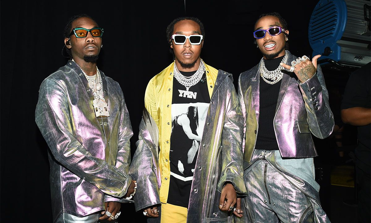 Travis Scott, Young Thug & Migos Debut Their New Track at Astroworld Festival