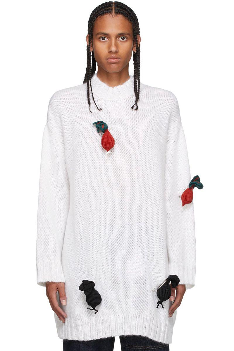 We're Salivating Over JW Anderson's Garden-Fresh Radish Sweater