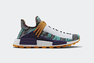 "89877021b Pharrell Williams x adidas Originals NMD Hu ""Solar""  Where to Buy"