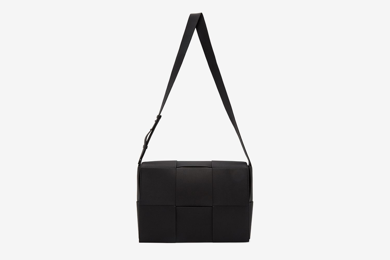 Large Intrecciato Messenger Bag