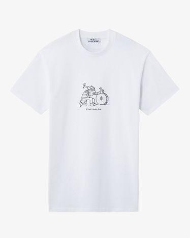 T-Shirt - Rough - White