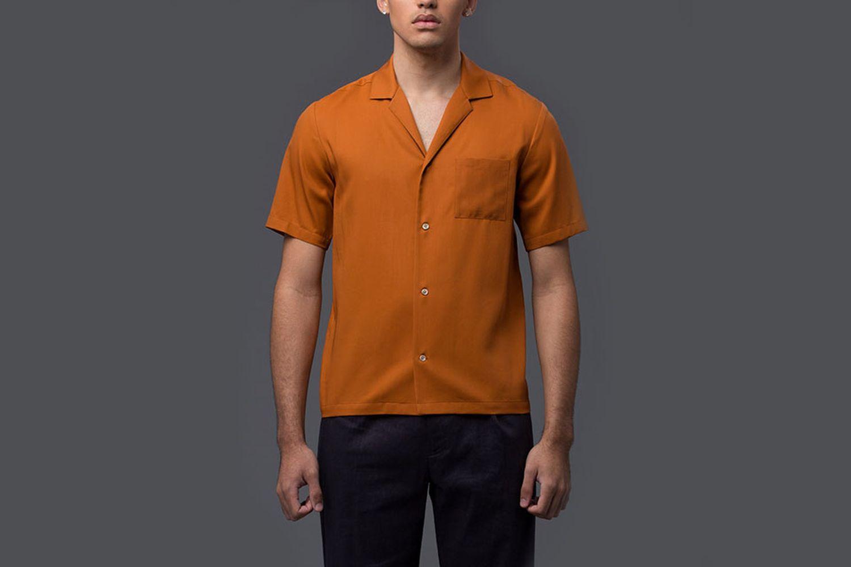 High Twist Cotton Resort Shirt