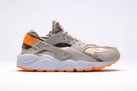 "competitive price e76db 4b351 Following the release of the watery ""Green Abyss"" colorway, Nike presents a  much dryer version of its Air Huarache silhouette. This time around, the  runner ..."