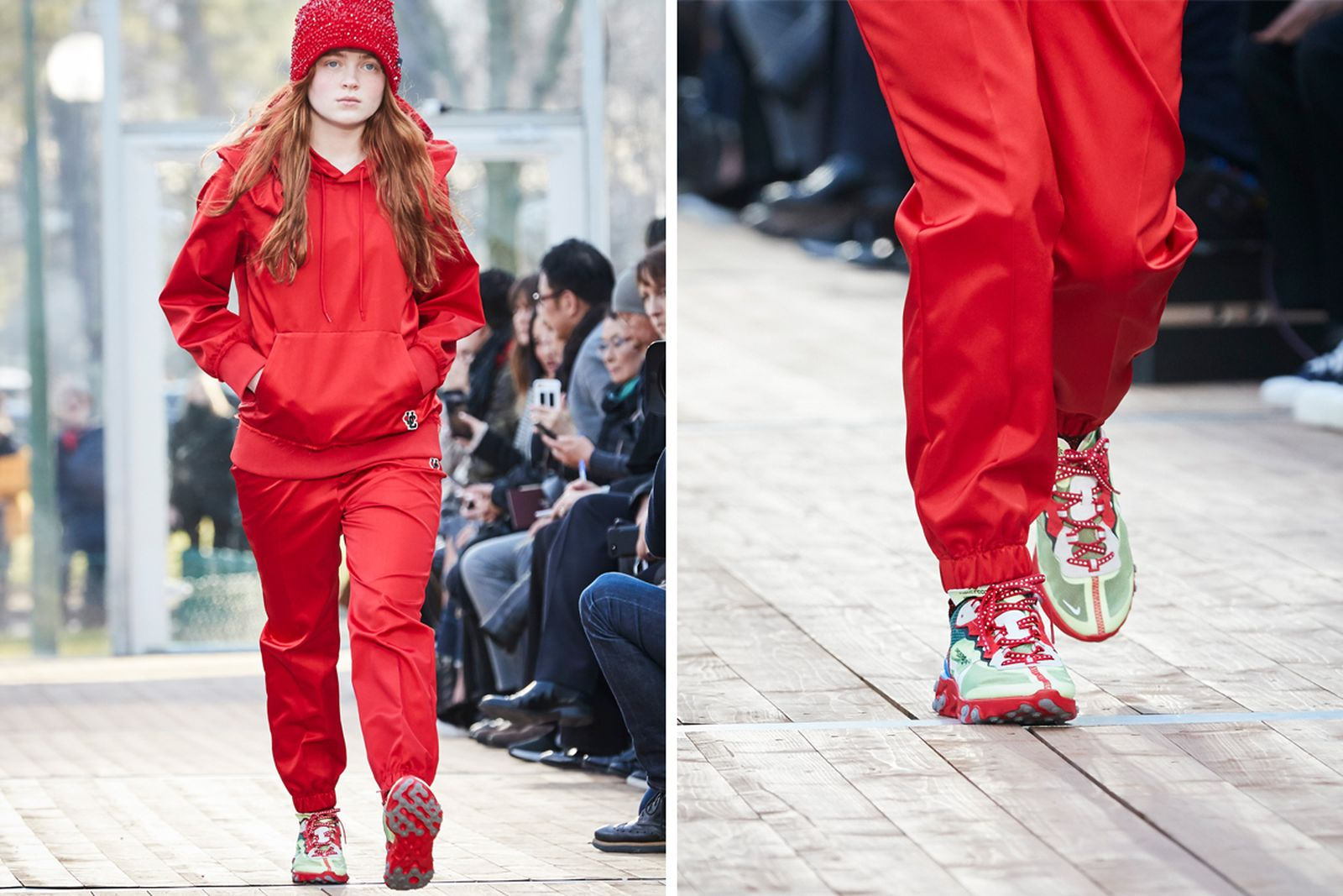 undercover nike react pfw fw18 gallery Fall/WInter 2018 paris fashion week runway