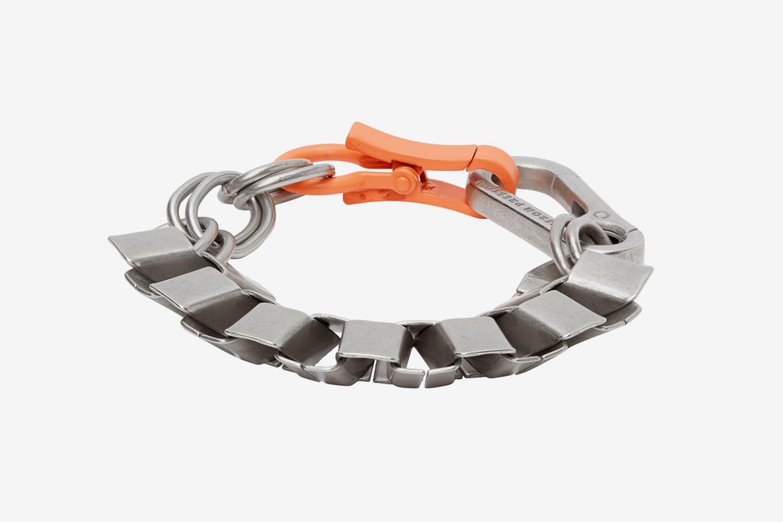 Silver Cubic Bracelet