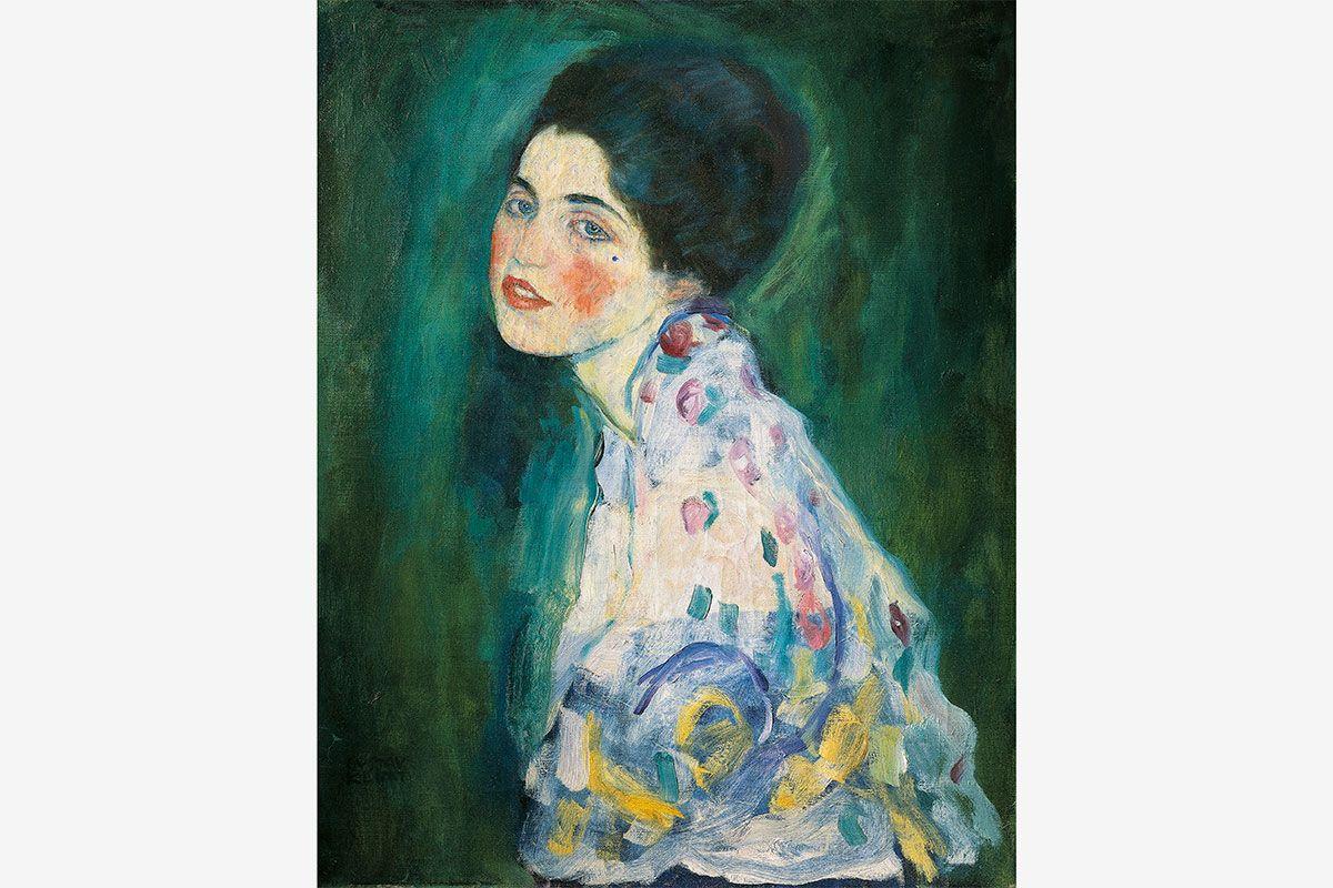 Gustav Klimt 'Portrait of a Lady' painting