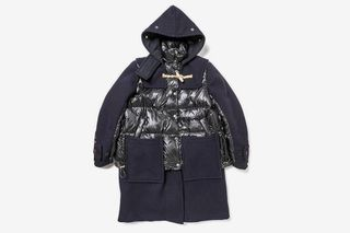 77129743e Sacai Unveil Collaborations with Gloverall & BE@RBRICK